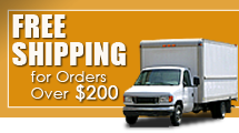 Free Shipping for Orders Over $200